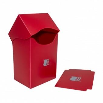 Коробочка BlackFire (пластиковая, на 80+ карт): красная