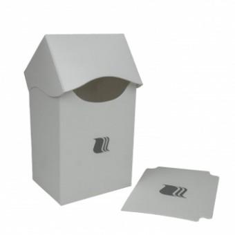 Коробочка BlackFire (пластиковая, на 80+ карт): белая