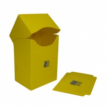 Коробочка BlackFire (пластиковая, на 80+ карт): желтая