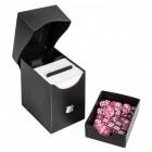 Коробочка BlackFire (пластиковая, на 100+ карт, с отделением для кубов): черная