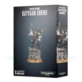 Raven Guard Chapter Master Kayvaan Shrike / Гвардия Ворона - Кайваан Шрайк