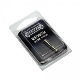 Магниты Stuff-Pro для миниатюр 5х2 мм (10 штук)
