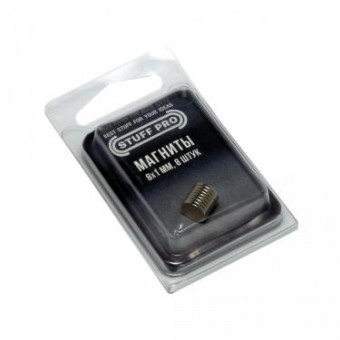 Магниты Stuff-Pro для миниатюр 8х1 мм (8 штук)