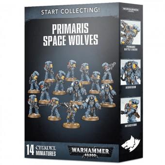 Start Collecting! Primaris Space Wolves / Набор Начни собирать! Космический Десант