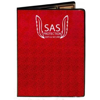 Альбом Sas Protection (на 216 карт, 3x3): красный
