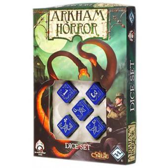 набор кубиков для игры Ужас Аркхэма