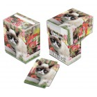 Коробочка Ultra-Pro (пластиковая, на 80 карт): Grumpy Cat Flowers