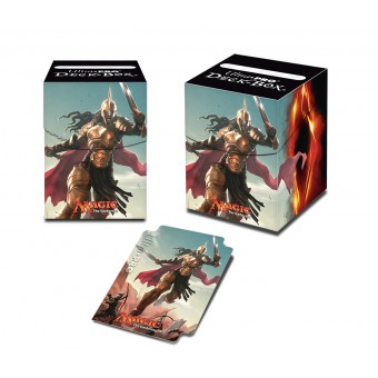 Коробочка Ultra-Pro Commander (пластиковая, на 100 карт): Kalemne, Disciple of Iroas