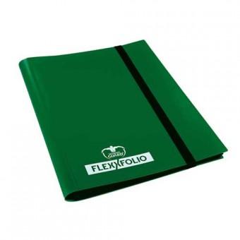 Альбом Ultimate Guard (гибкий, на 160 карт 2х2): зеленый