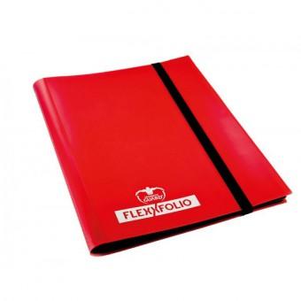 Альбом Ultimate Guard (гибкий, на 160 карт 2х2): красный