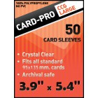 Протекторы Card-pro (CCG Lage, 100 x 135 мм., 100 штук)