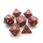 Набор из 7 кубиков для D&D: Коричневый