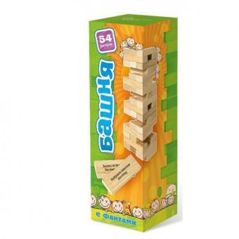 настольная игра Башня с заданиями для детей / Башня с фантами