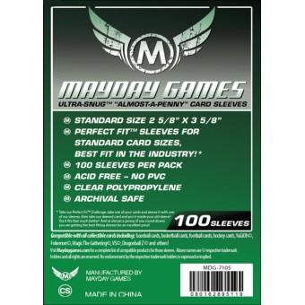 Протекторы MayDay: Прозрачные (63,5 х 89 мм., 100 шт.)