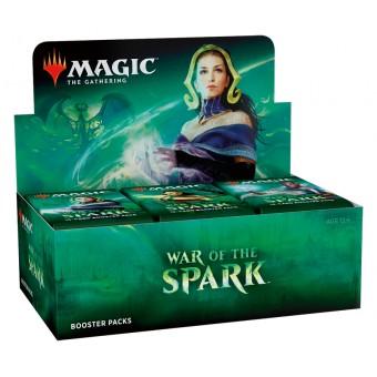 MTG. 2019. Война Искры / War of the Spark. Дисплей из 36 бустеров на английском языке