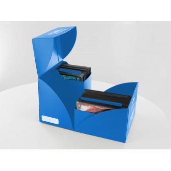 Коробочка Ultimate Guard (пластиковая, на 160+ карт): ярко-синяя