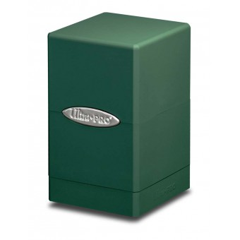 Коробочка Ultra-Pro: Сатиновая башня: зеленая