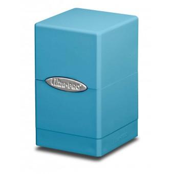 Коробочка Ultra-Pro: Сатиновая башня: голубая