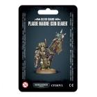 Death Guard Plague Marines Icon Bearer / Чумной Знаменосец Гвардии Смерти