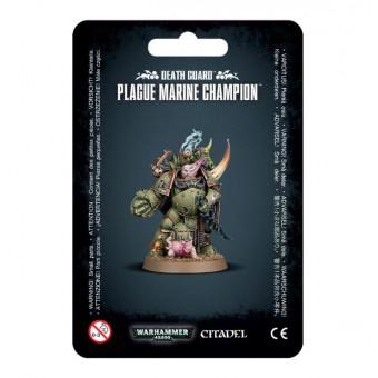 Death Guard Plague Marines Champion / Чумной Десантник-чемпион Гвардии Смерти