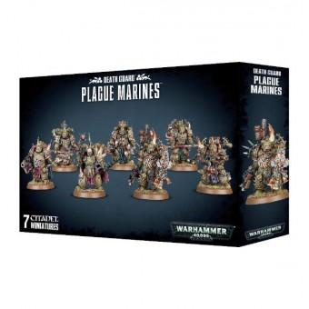 Death Guard Plague Marines / Чумные Десантники Гвардии Смерти (большой набор)