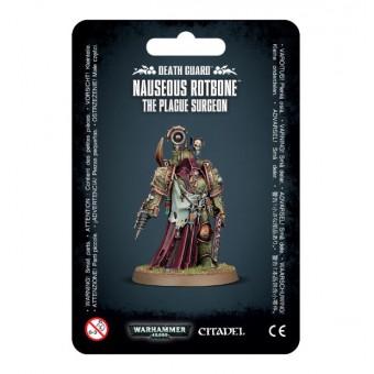 Death Guard Nauseous Rotbone, the Plague Surgeon / Тошновторная Гниющая Кость Гвардии Смерти