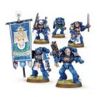 Space Marine Command Squad / Командное Отделение Космодесанта