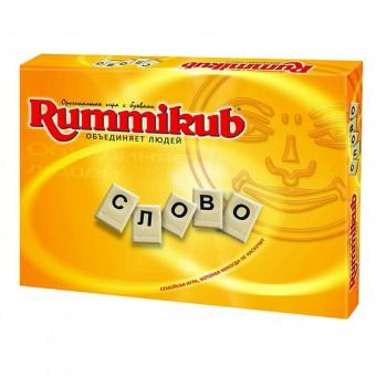 настольная игра Rummikub с буквами / Руммикуб Слово