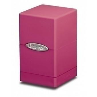 Коробочка Ultra-Pro: Сатиновая башня: Светло-розовая