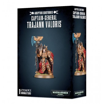 Captain-General Trajann Valoris / Главнокомандующий Траянн Валорис