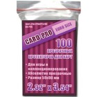 Протекторы Card-pro (Euro Size, 59 x 90 мм., 100 штук)