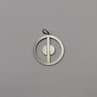 кулон металлический дэдпул