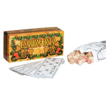 настольная игра Русское лото в картонной упаковке