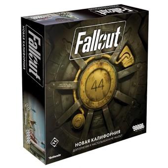 настольная игра Fallout. Дополнение: Новая Калифорния