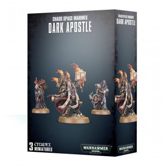 Chaos Space Marines Dark Apostle / Темные Апостолы Космодесанта Хаоса