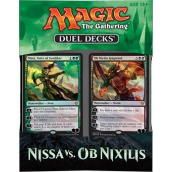 MTG 2016. Duel Decks: Ob nixilis vs Nissan / Дуэльный набор: Нисса против Об Никсилиса