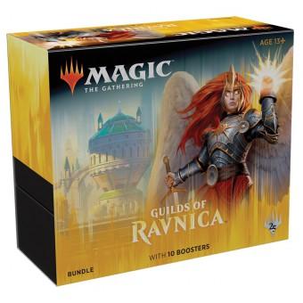 MTG. 2019. Гильдии Равники / Guilds of Ravnica. Подарочный набор Bundle из 10 бустеров