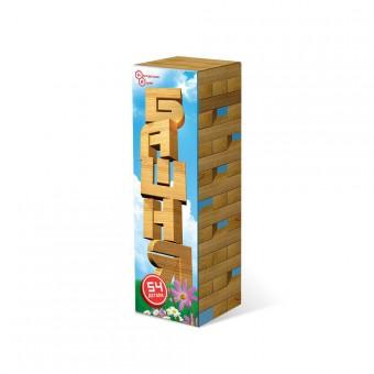 настольная игра Башня / Дженга в картонной упаковке