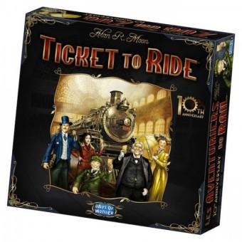 настольная игра Ticket to Ride: Anniversary Edition / Билет на проезд: Подарочное издание