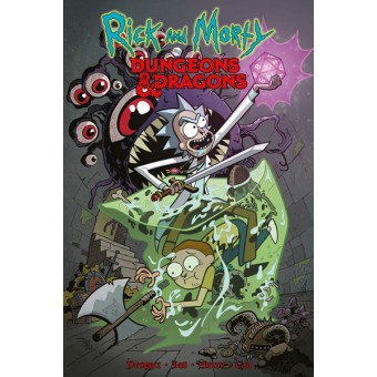 комикс Рик и Морти против Dungeons & Dragons