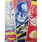 постер Вселенная DC Comics. Superman, Batman, Flash