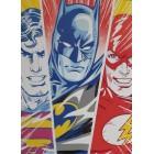плакат из набора DC Супермен, Бэтмен, Флэш