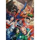 плакат из набора DC Герои