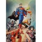 плакат из набора DC Лига Справедливости