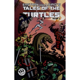 комикс Tales Of The Teenage Mutant Ninja Turtles: Volume 2.