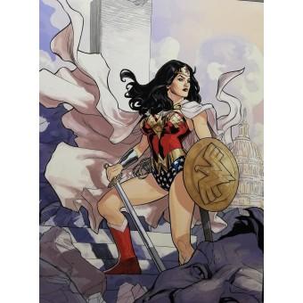 постер Вселенная DC Comics. Wonder Woman