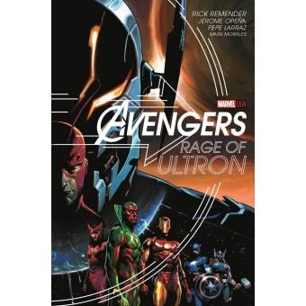 Постер Avengers Rage Of Ultron By Jerome Opena (60 см х 90 см.)