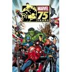 Постер Marvel 75th Anniversary Magazine #1 (60 см. х 90 см.)