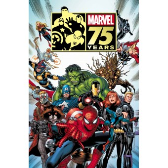 Постер Marvel 75th Anniversary Magazine #1 (60 см. х 90 см.)