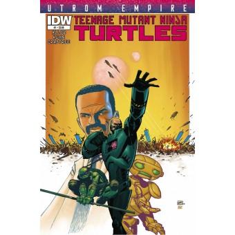 комикс Teenage Mutant Ninja Turtles: Utrom Empire (подростки мутанты ниндзя черепашки: Империя Утромов)